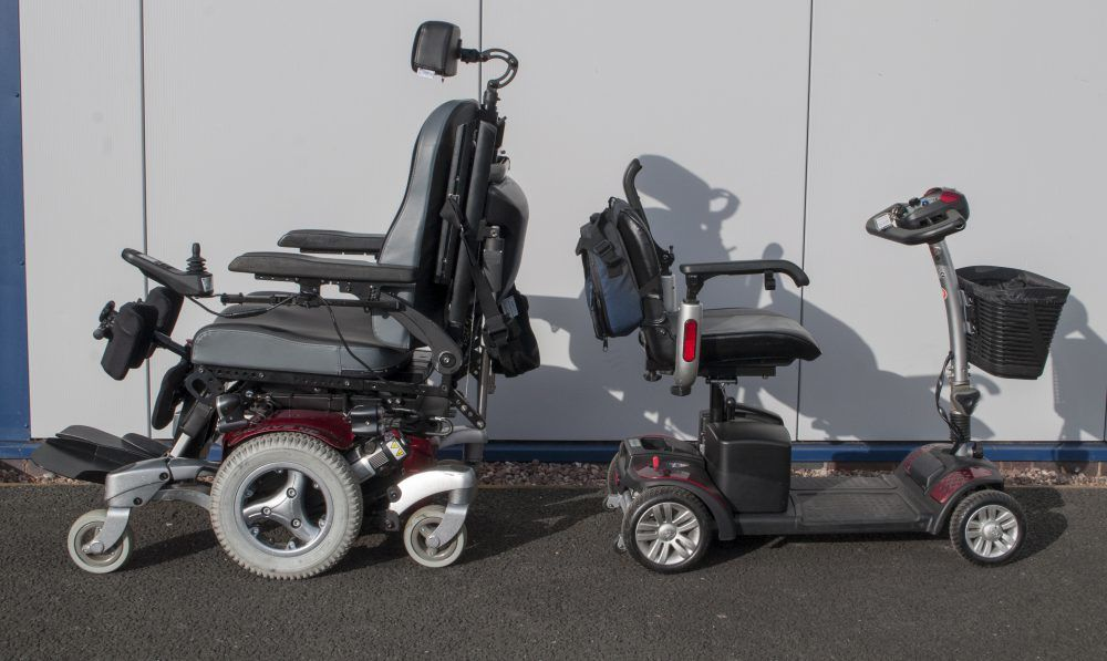 The Difference Between a Wheelchair and a Mobility Scooter
