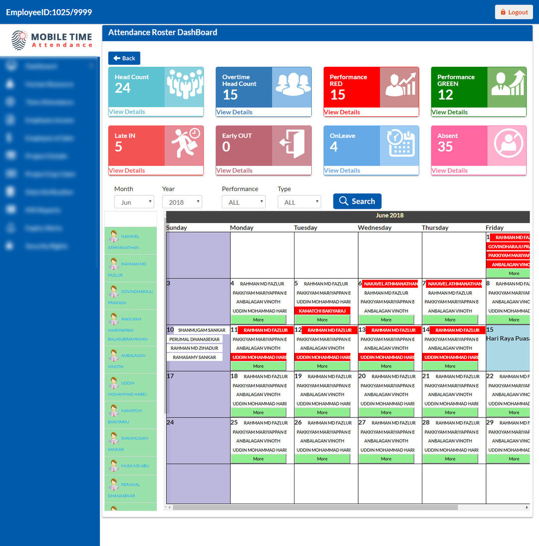 Workforce management solutions can be deployed enterprise-wide, time