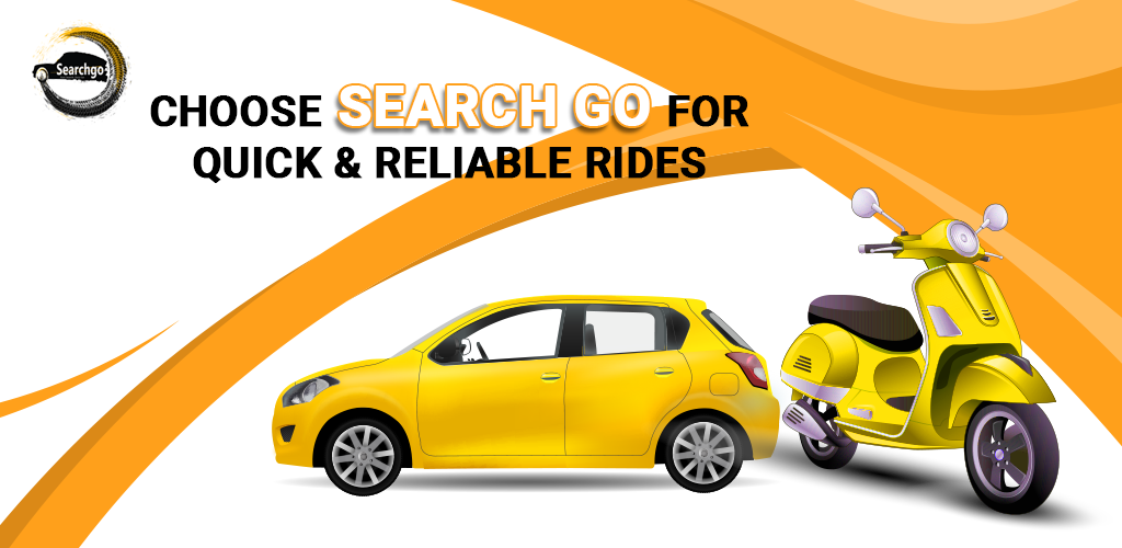 Guide: How to Book a Cab/Taxi/Bike in SearchGo App (Android)?