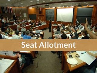 JEE Main Seat Allotment 2019