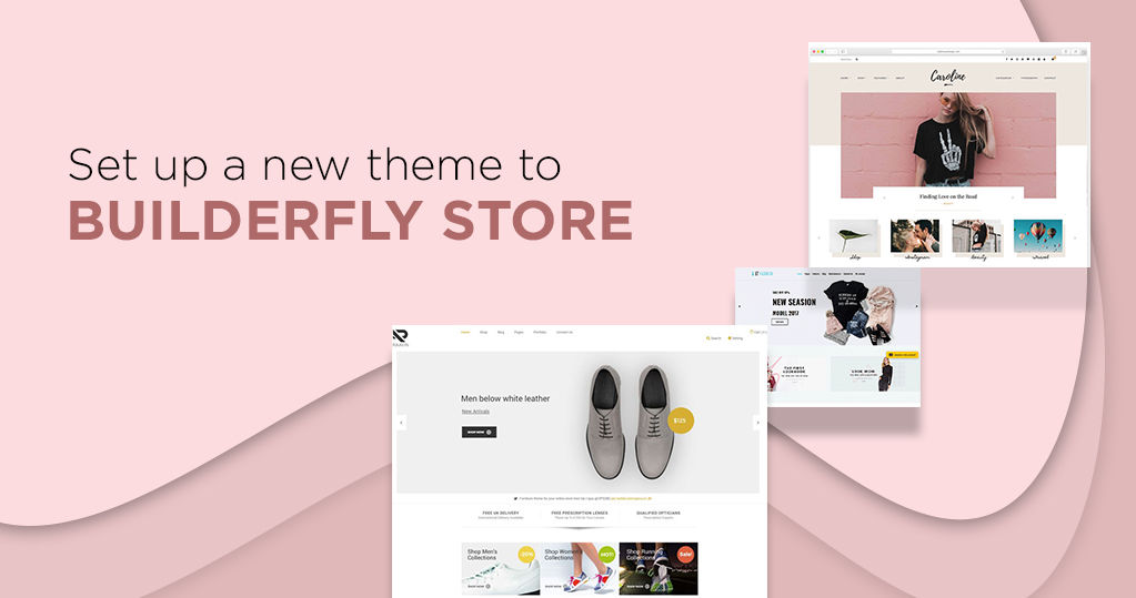 How to Set Up a New Theme in the Builderfly Ecommerce Store?