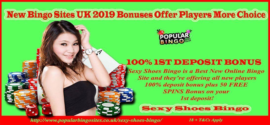New Bingo Sites UK 2019 Bonuses Offer | Free Spins Slots UK