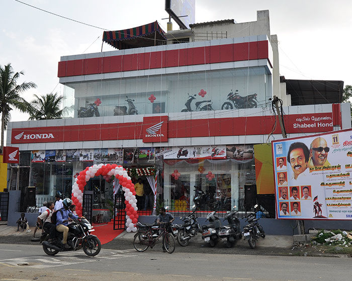 Honda Two Wheeler Showroom in Chennai