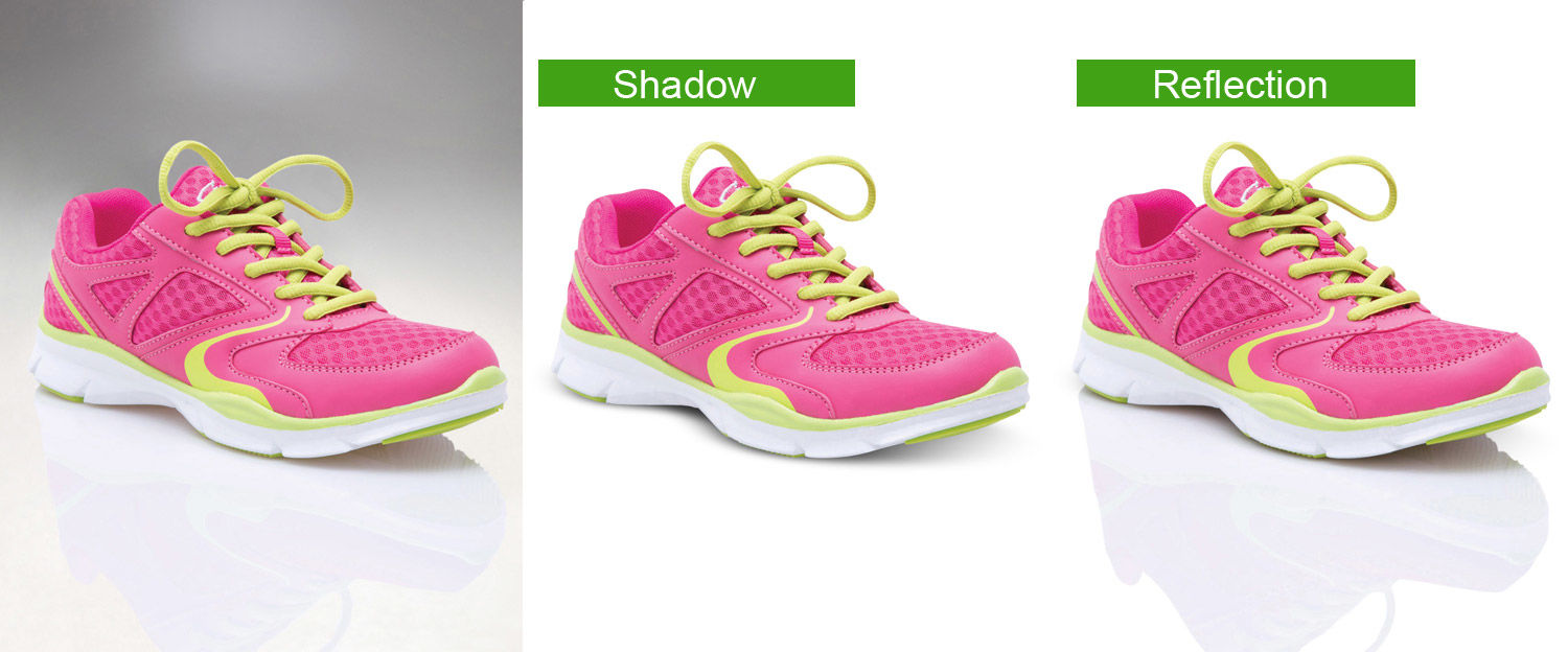Clipping Path, Shadow creation, and background remove