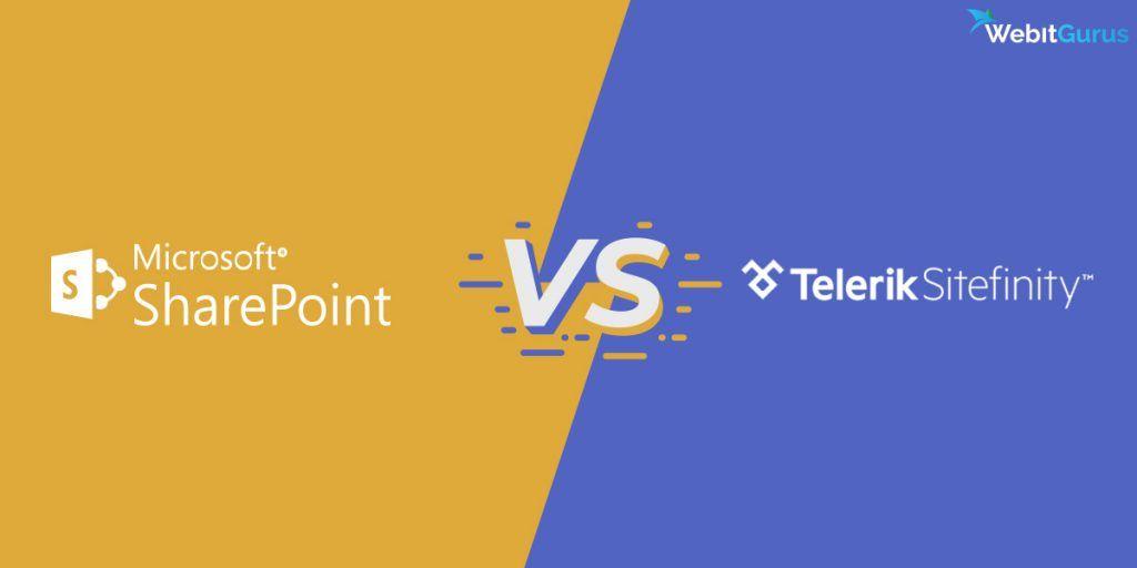 Microsoft SharePoint vs Telerik Sitefinity