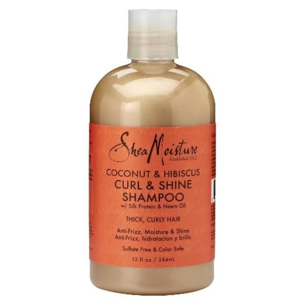 Get Best Deals on Shea Moisture Coconut And Hibiscus Curl & Shine Shampoo
