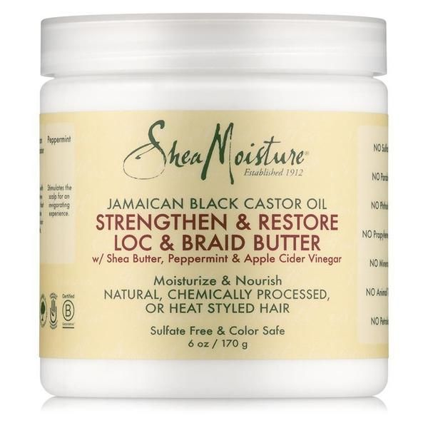 Buy Jamaican Black Castor Oil Loc and Braid Butter by Shea Butter