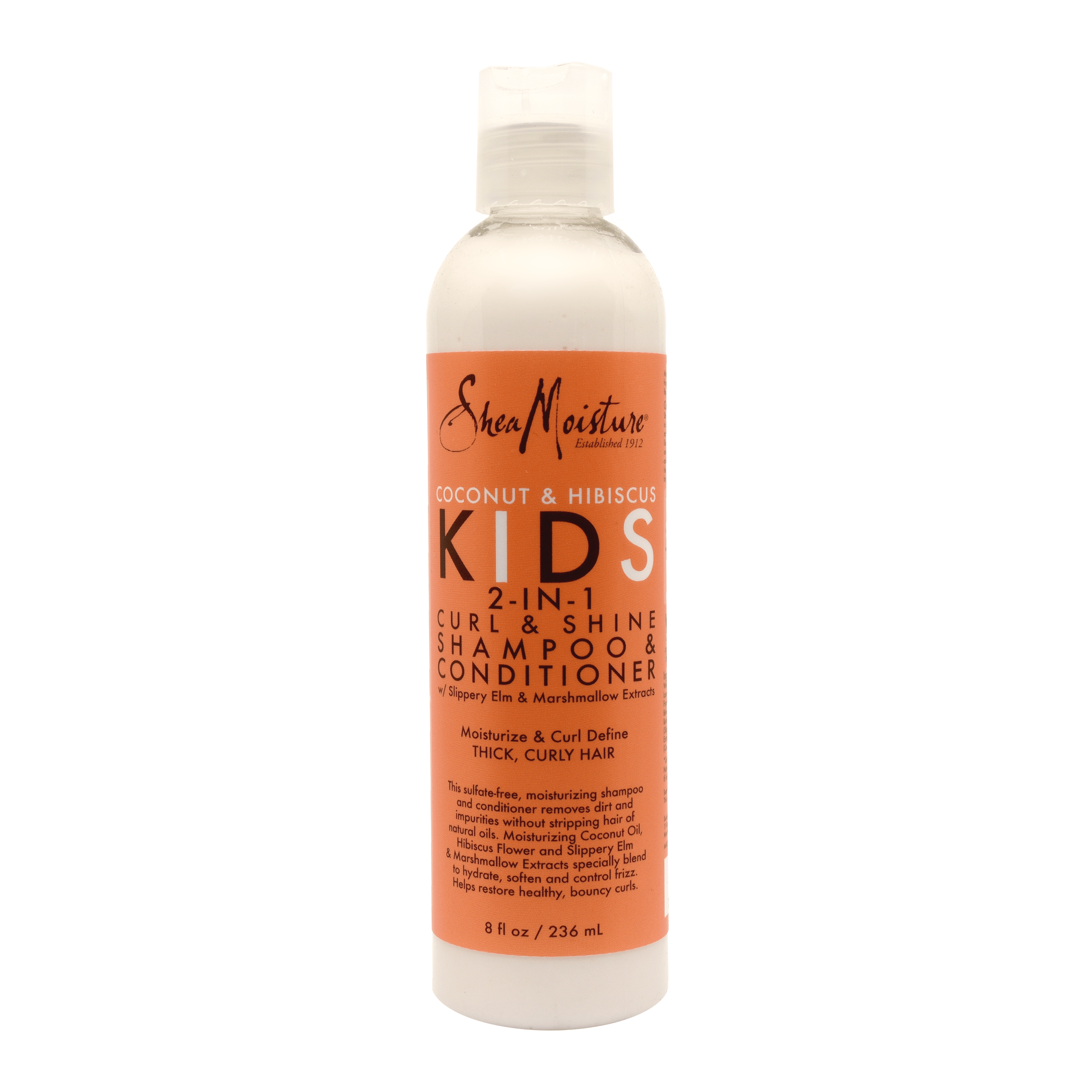 Buy Shea Moisture Coconut & Hibiscus Kids 2 In 1 Curl & Shine Shampoo & Conditioner Online