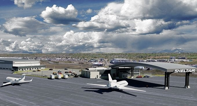 Sheltair Aviation breaks ground for its FBO at Colorado's KBJC  Hangars