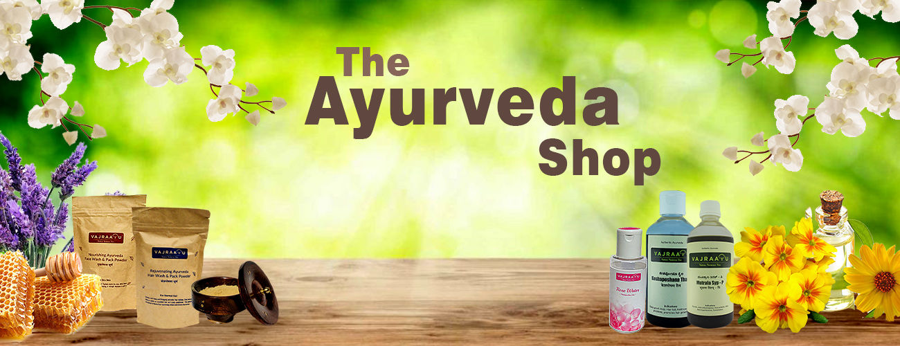 Vajraayu Ayurveda Natural Hair care product | Hair color and wash