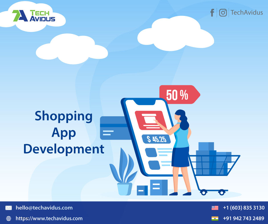 Online Shopping App Design