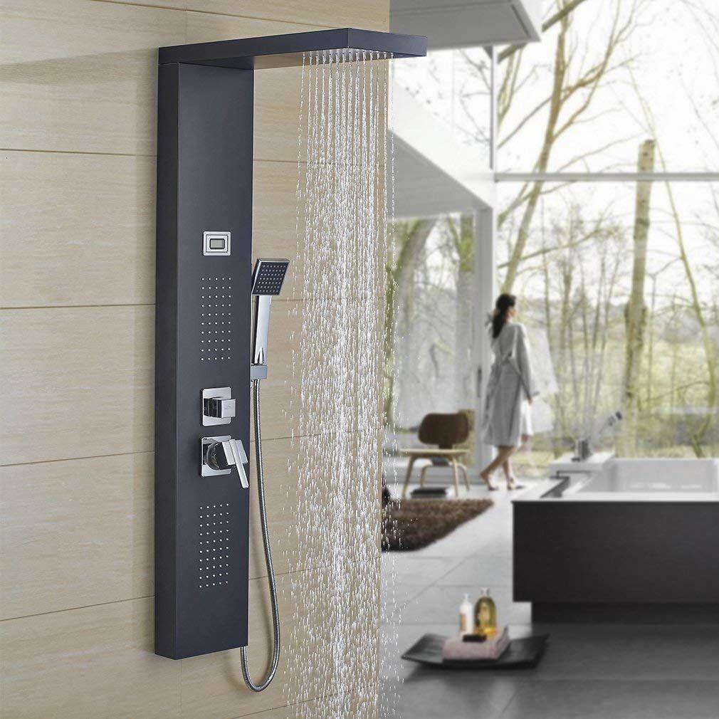 Corner Shower panel