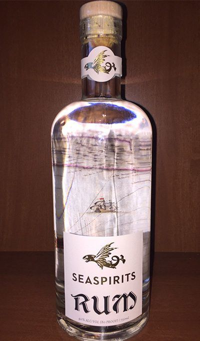 Silver Flavored Rum at SeaSpirits Distillery - White Rum Woodinville