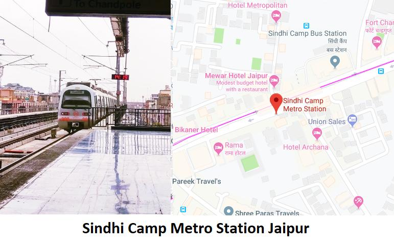 Sindhi Camp Metro Station Jaipur - Routemaps.info