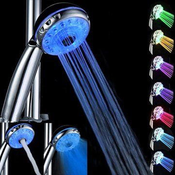 What are the Benefits of a LED Shower Head?