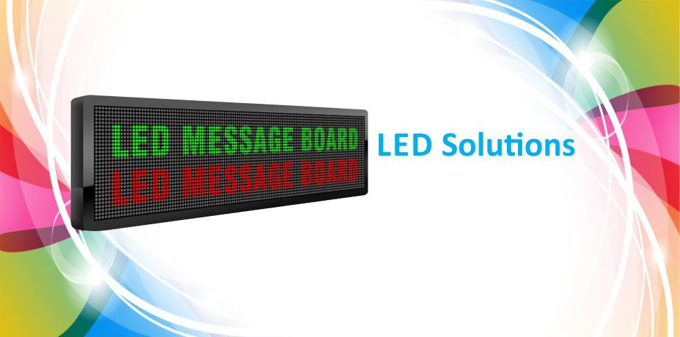 LED Message Moving Display Board For Advertising | Compucare