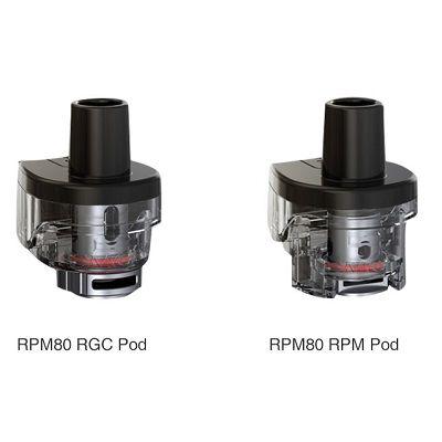 SMOK RPM80 Pod Cartridge - No Coils / 3Pcs Pack - Wholesale Vapor Supplies | USA Vape Distributor