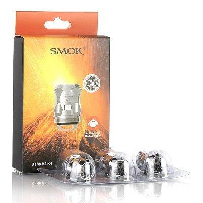 SMOK Baby V2 K4 Coils - 3 Pack - Wholesale Vapor Supplies   USA Vape Distributor