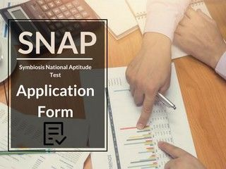 SNAP 2018 Application Form - Registration Online Here