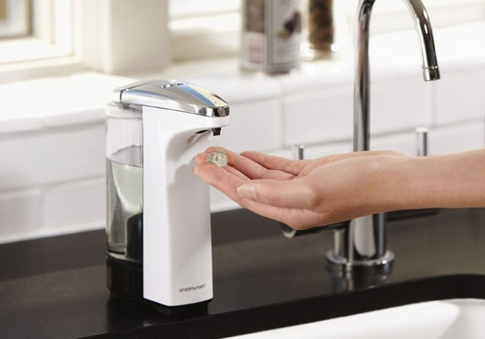 Kitchen Soap Dispensers Can Eliminate Those Nasty Germs