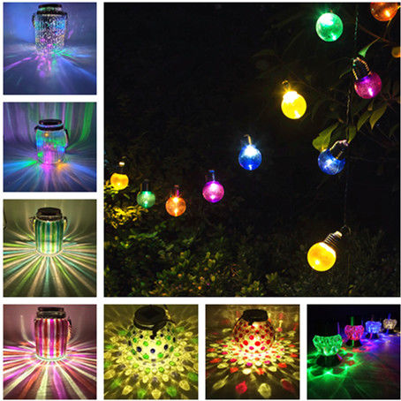 Solar christmas decorations
