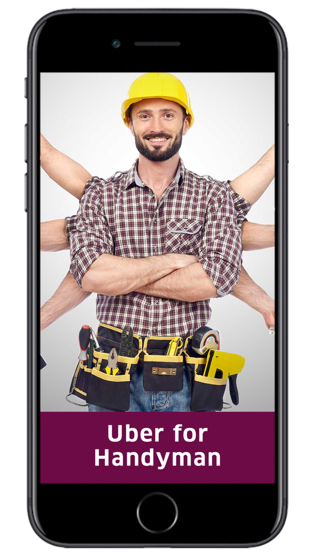Uber for Handyman | Uber for Handyman Services | On Demand Handyman App - AppDupe