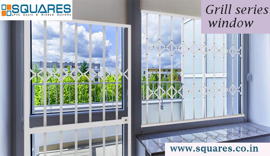 Grill series windows by squares