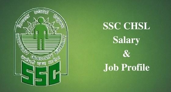 SSC CHSL Salary 2019