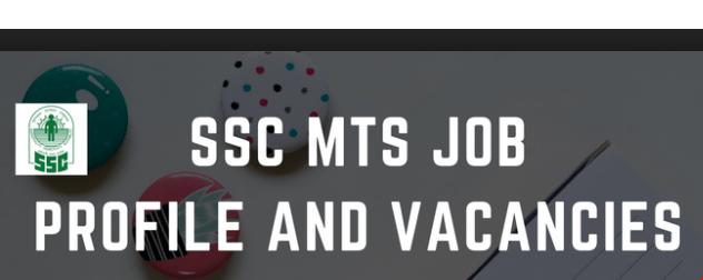 SSC MTS Vacancy 2019: Upcoming SSC MTS Vacancies Details