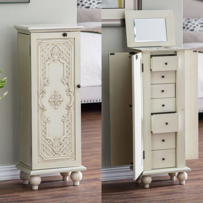 What is a jewelry armoire?