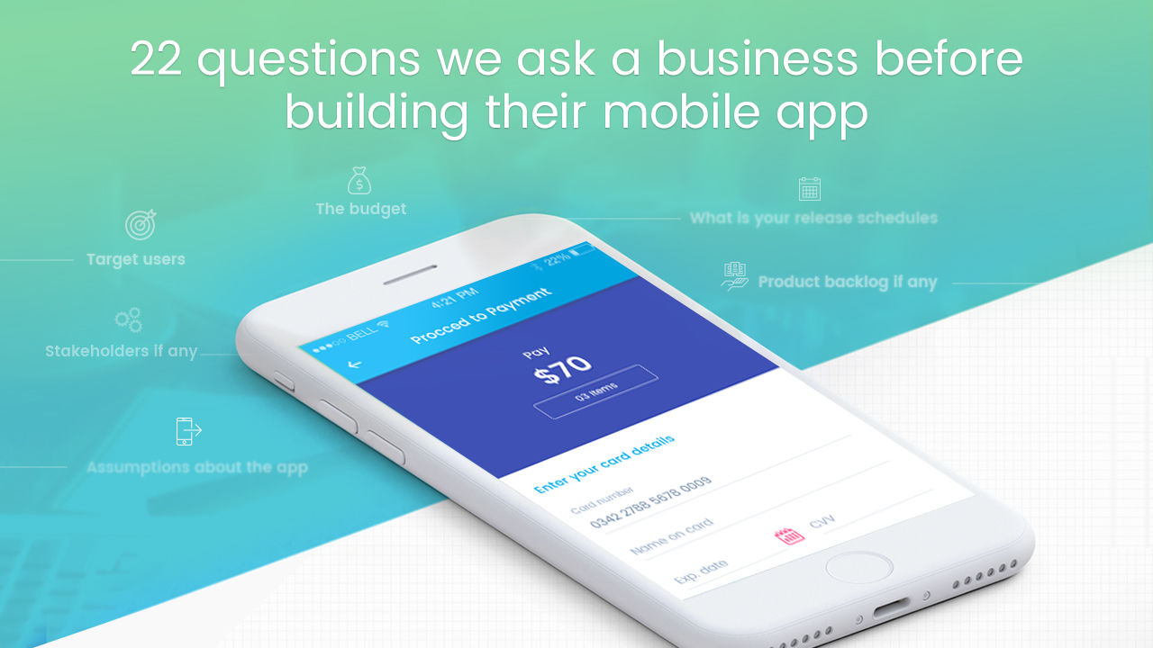 Top 22 Questions Businesses Must Answer Before Building An App