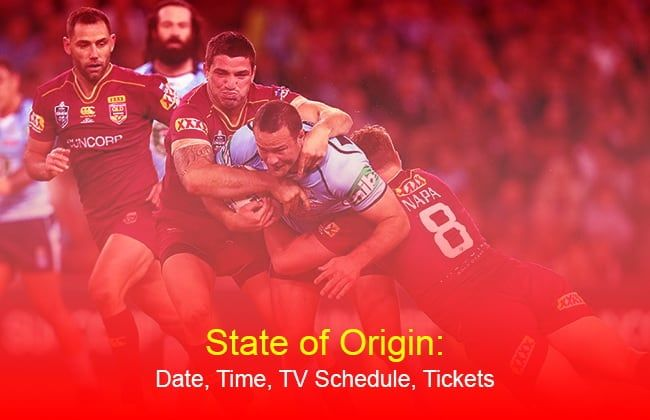 State of Origin 2019: Date, Time, TV Schedule, Tickets