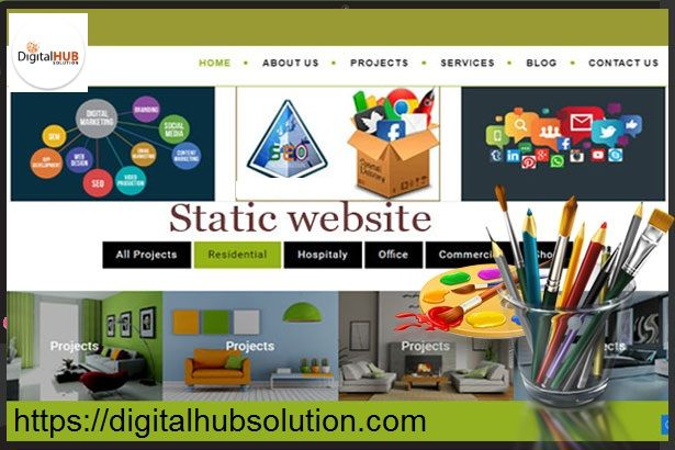 Static or Dynamic Web Design Services - Let's Make a Choice by Jean Walker