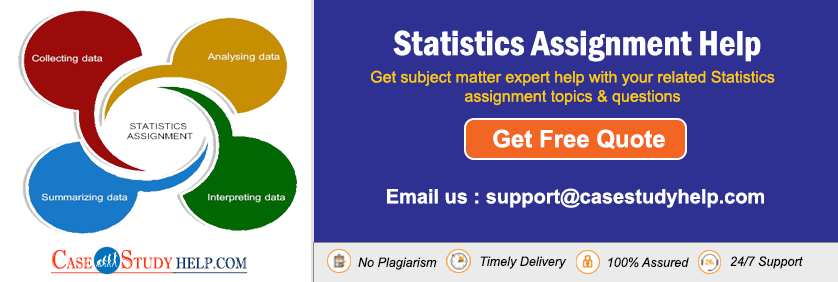 Statistics Assignment Help Writing Service from Technical Writers