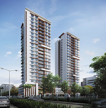 Living at Residential Apartments in Goregaon West with Modern Amenities