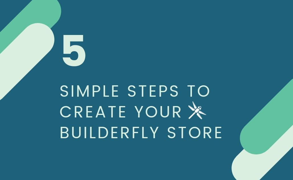 How to create online store in 5 simple steps: Builderfly