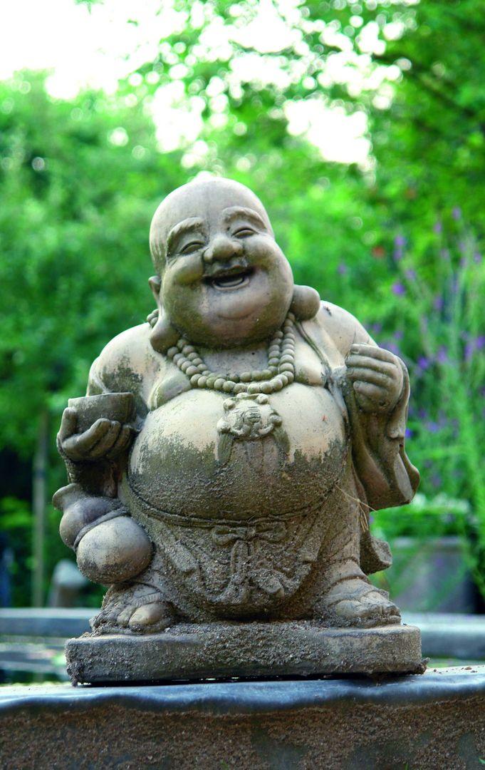Stone Garden Buddha Ornament Statue