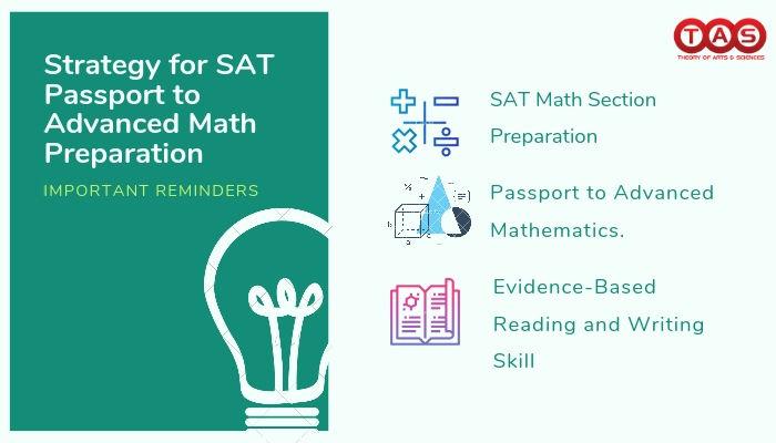 SAT Passport to Advanced Math Preparation