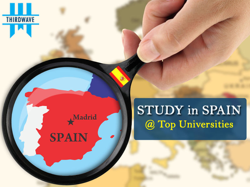 Study in Spain - Thirdwave Overseas Education