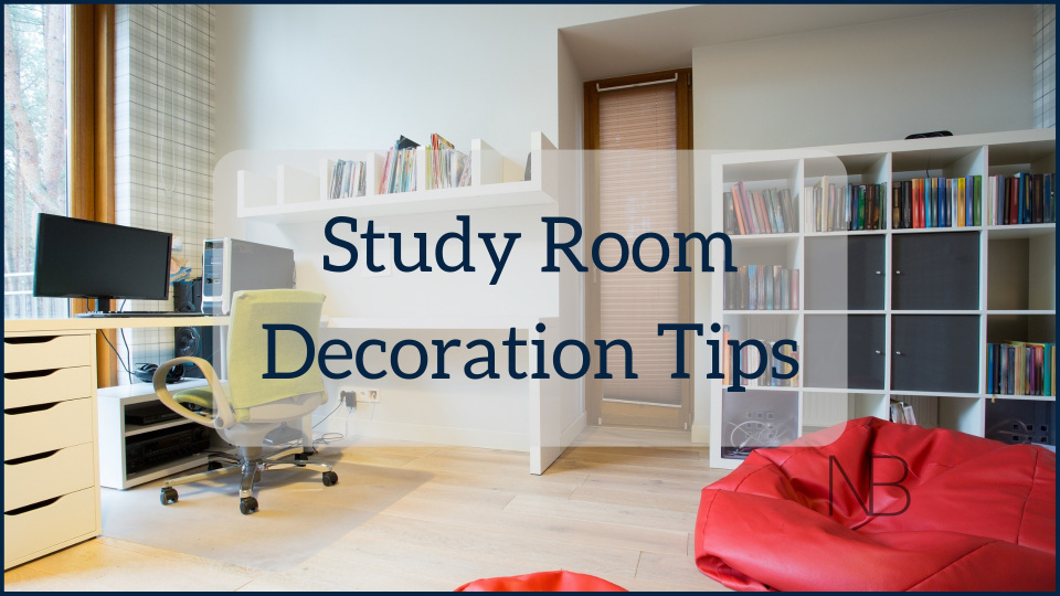 Tips to Decorate a Comfortable Study Room or Work Corner