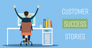 Sharing Customer Stories is an effective means of Marketing