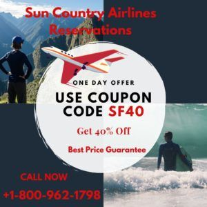 Sun Country Airlines Reservations +1-800-962-1798
