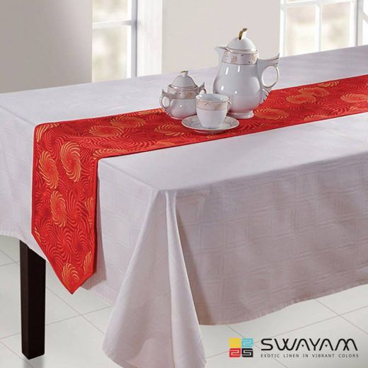 Table Linen is as Important as the Tables Itself – Swayam India Official Blog- Updates on Home Decor, Latest Trends of Home Furnishing