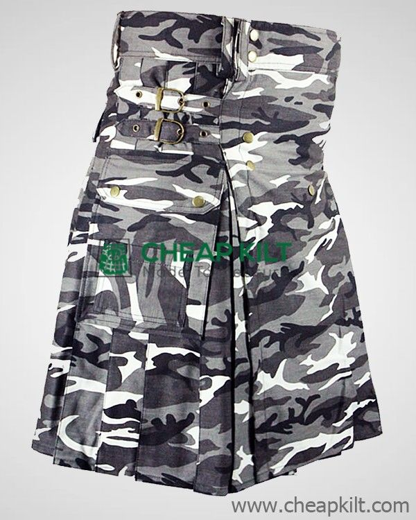 Tactical Urban Camo Utility Kilt