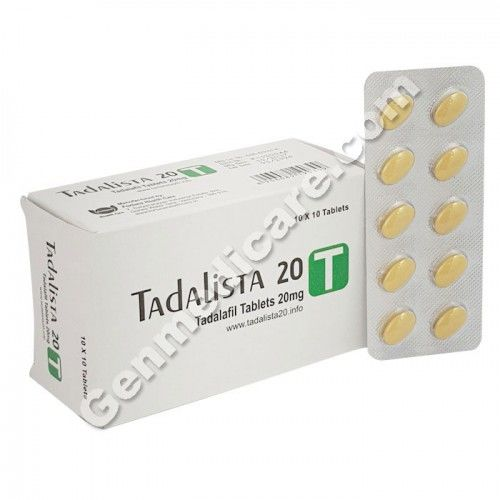 Buy Tadalista 20 Tablets | Tadalista 20 Reviews, side effects