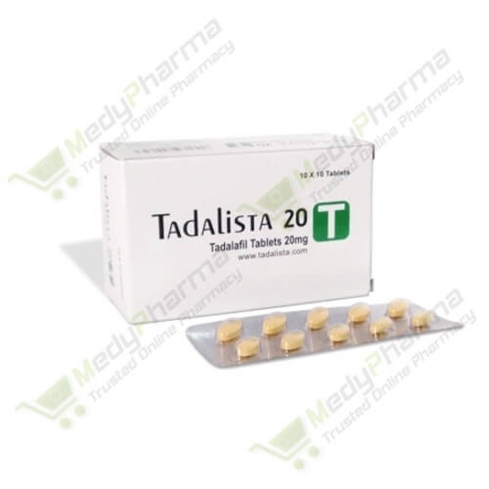 Buy Tadalista 20mg Online, Tadalista 20 side Effects  | Medypharma
