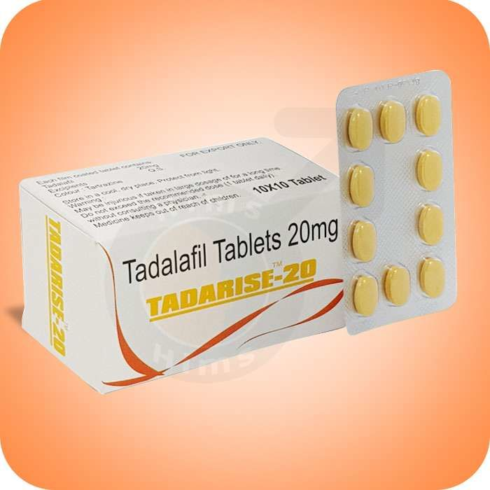 Tadarise 20 Online | Super Cialis Tadarise | Tadalafil Dapoxetine