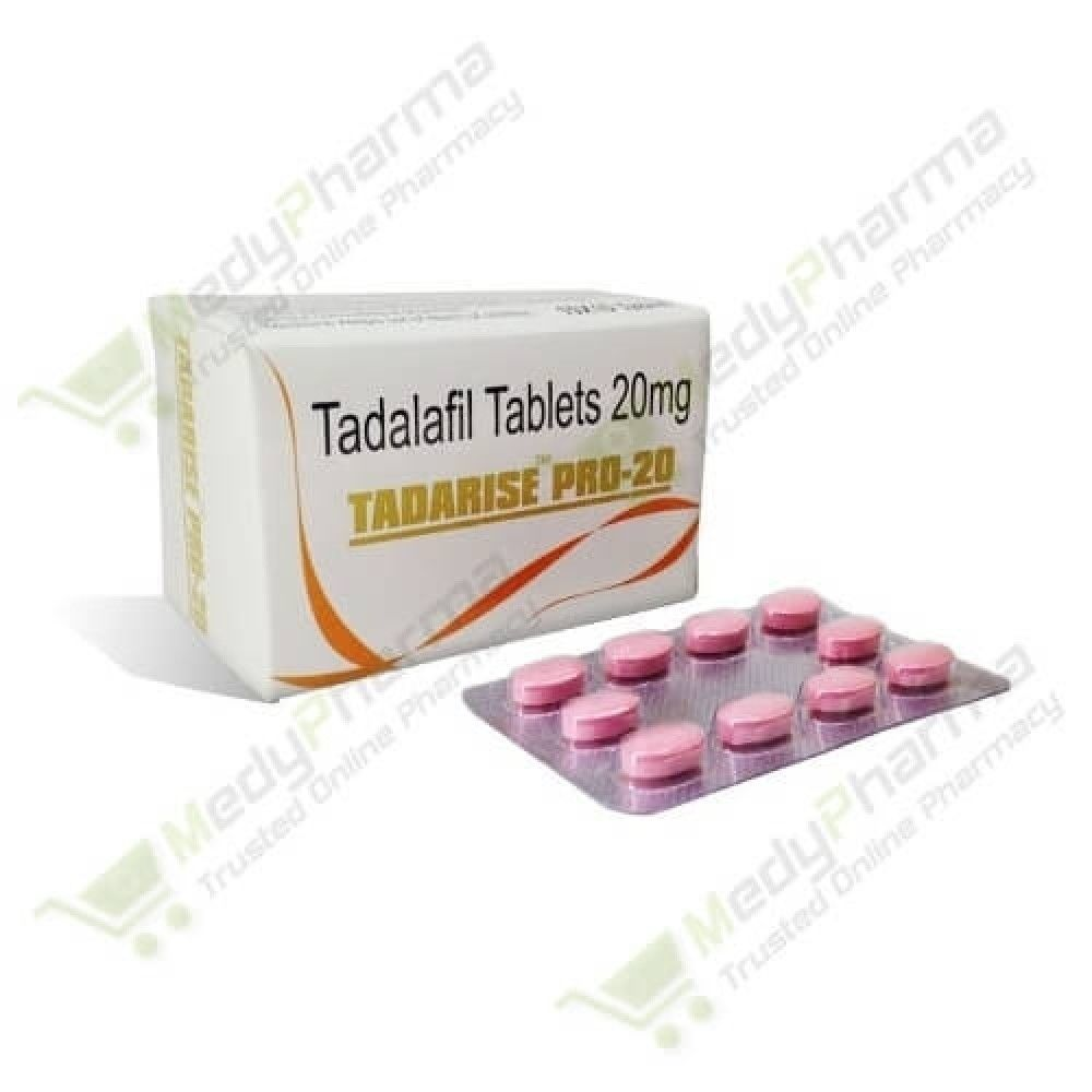 Buy Tadarise Pro 20mg Online, tadarise pro 20 review,  | Medypharma