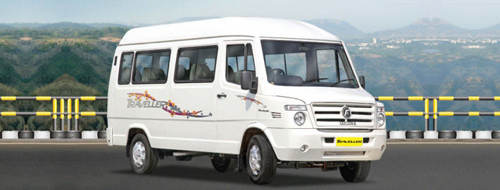 Hire Tempo Traveller on rent in Ghaziabad NCR @15 Rs/km