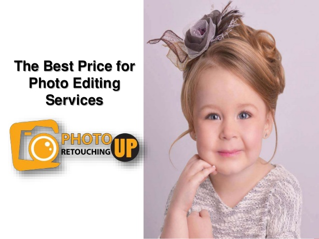 The best price for photo editing services